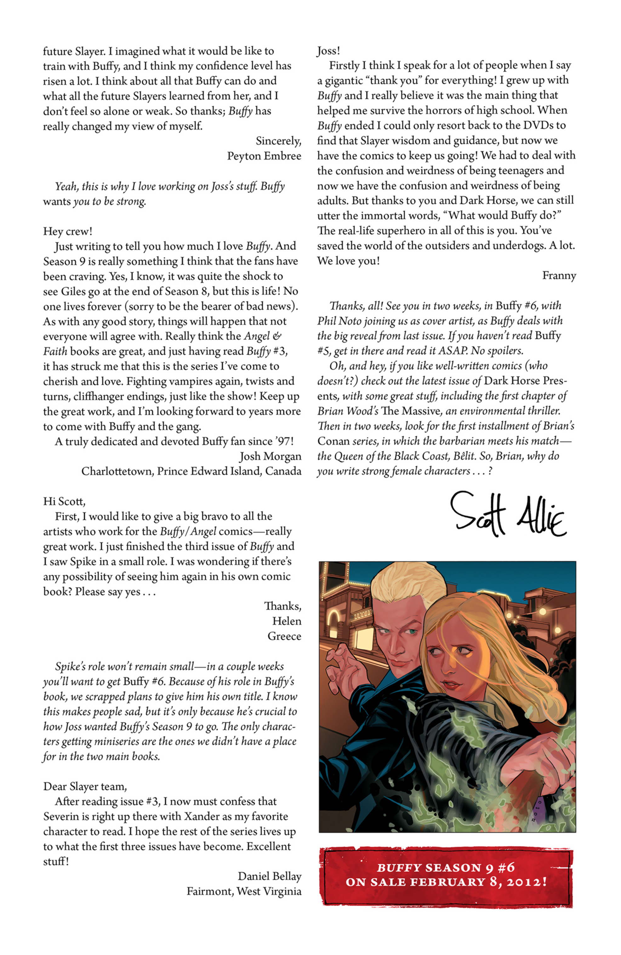 Read online Angel and Faith comic -  Issue #6 - 27