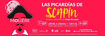 Poster Las picardías de Scapin