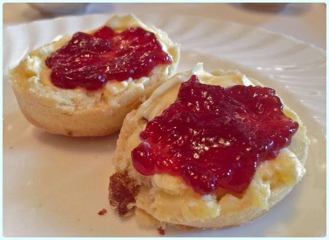 Betty's Tea Room, York - Scones