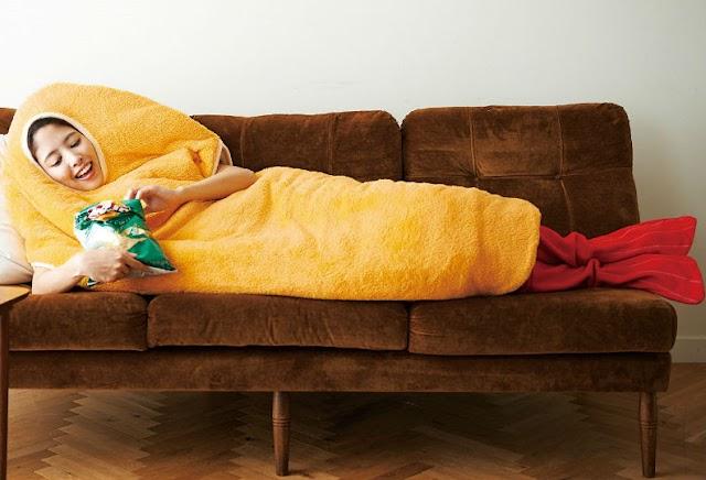 【日式好物】懶人食睡都要好東西 暖笠笠「炸蝦睡袋」