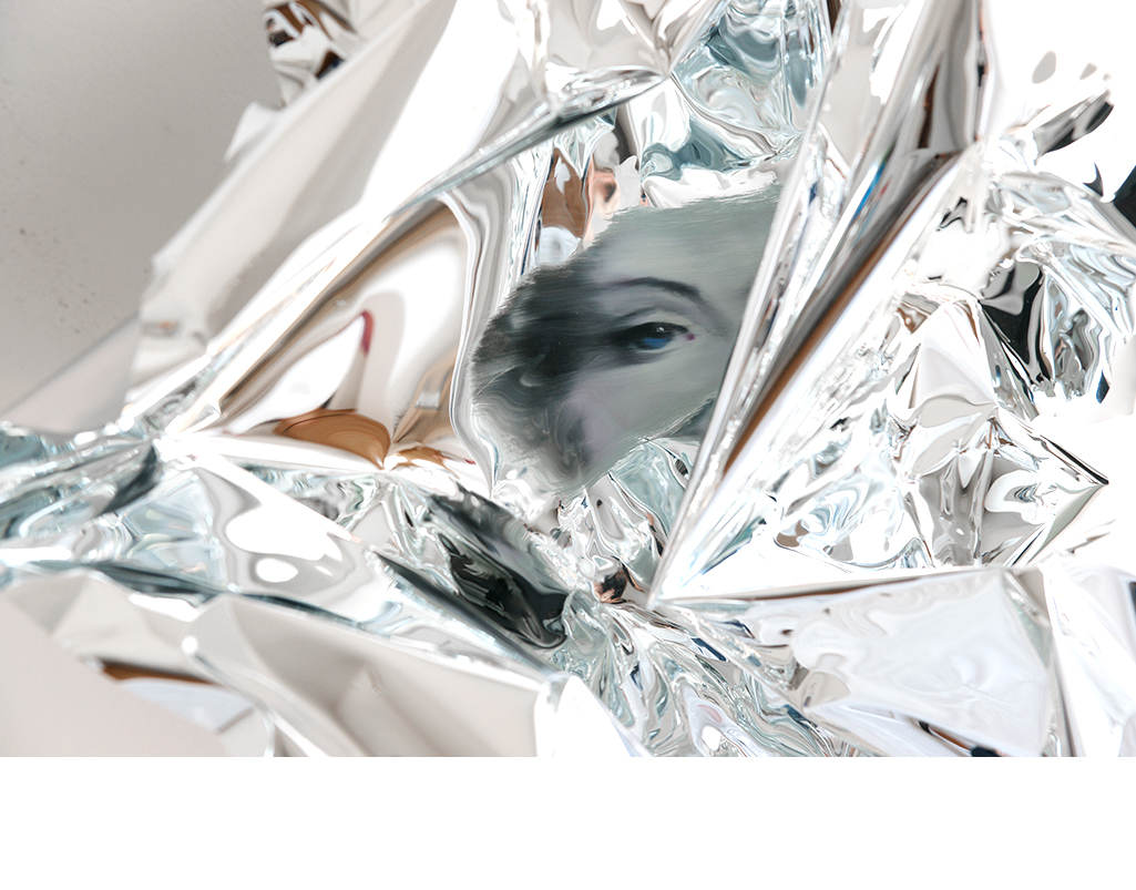 15-Martin-C-Herbst-Oil-Painting-on-Folded-Mirror-Polished-Aluminium-Foil-www-designstack-co