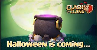 ara Cepat Mendapatkan Dan Memunculkan Halloween Couldron Obstacle COC  cover