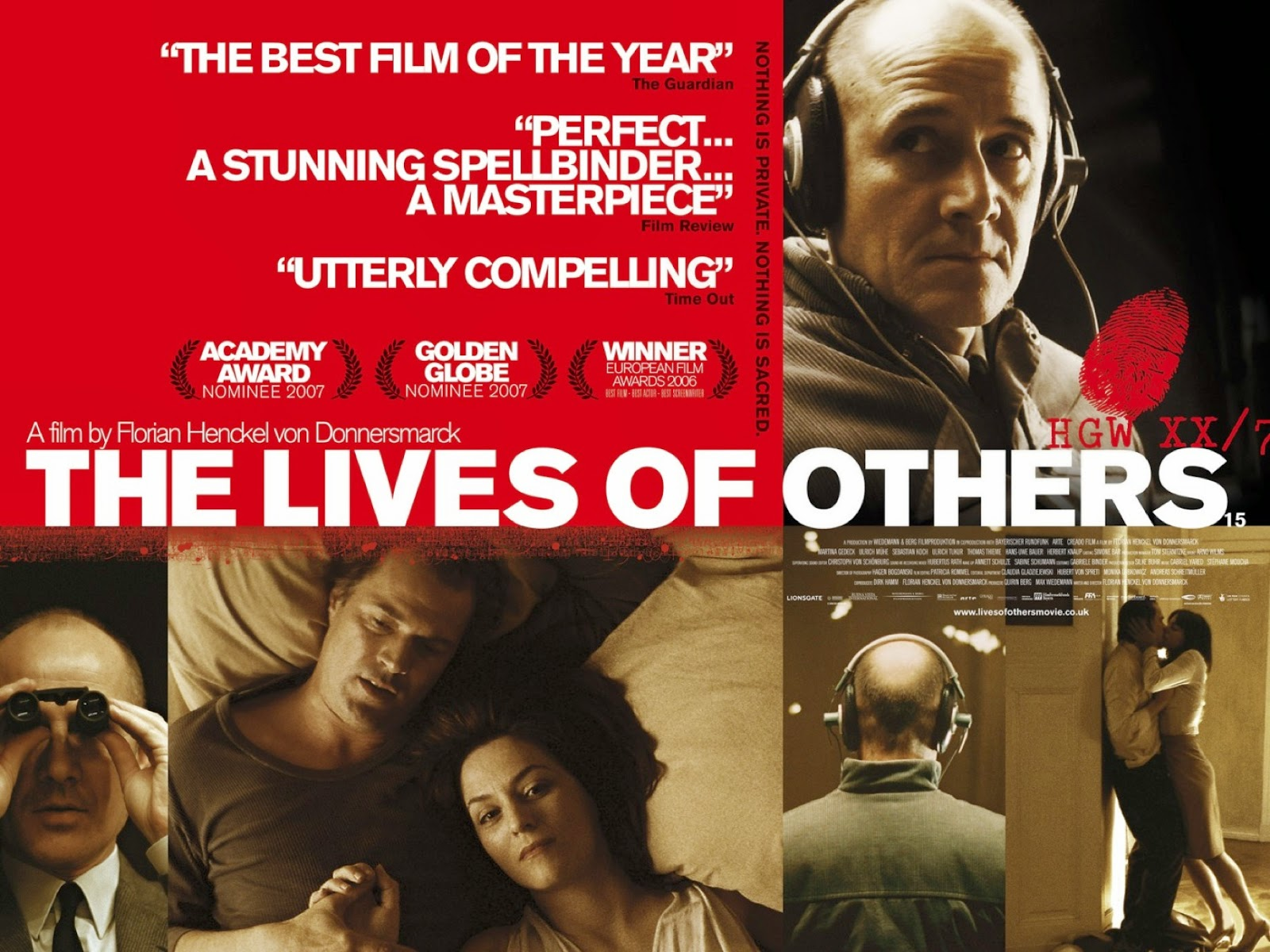 intelliblog movie monday the lives of others