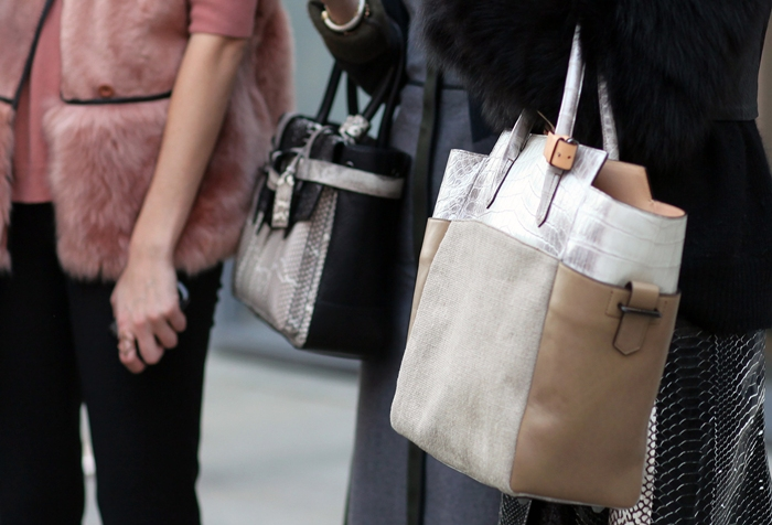 New York Street style Reed Krakoff bag
