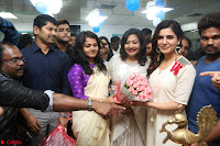 Samantha Ruth Prabhu Smiling Beauty in White Dress Launches VCare Clinic 15 June 2017 025.JPG