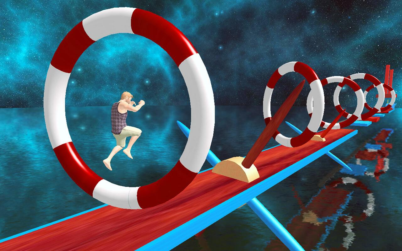 Stuntman Water Run MOD APK terbaru