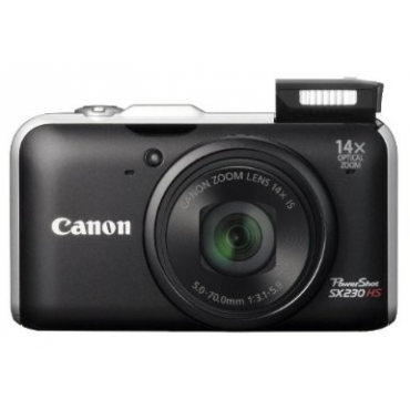 271024fc258 It is a 12.1 megapixels camera with 14X optical zoom and wide angle lens.  It also features the Canon HS system for great photos in ...