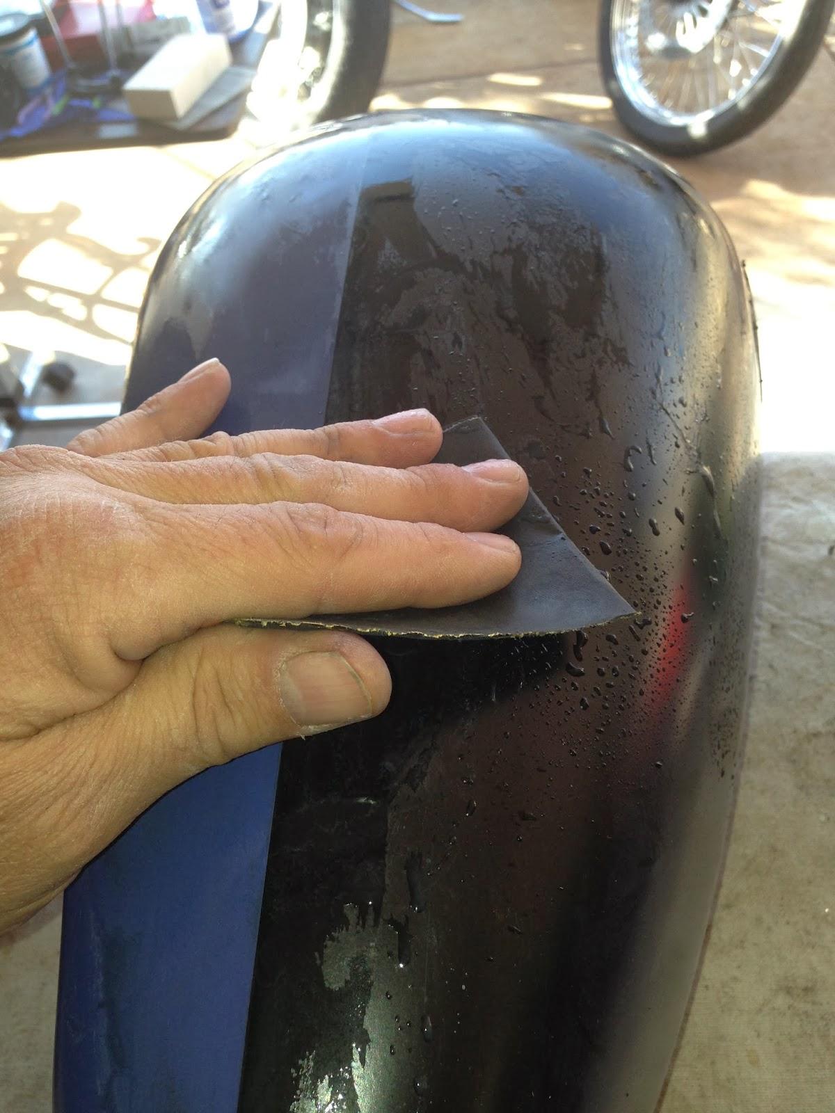 Tear it up, fix it, repeat: Shovelhead Rattlecan Repaint Part 3