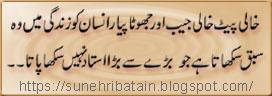 islamic achi batain,sunehre urdu aqwal-e-zareen