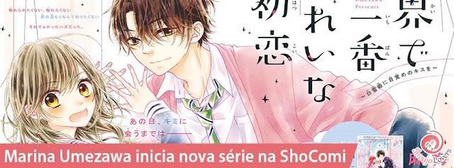 Marina Umezawa inicia nova série shoujo na ShoComi