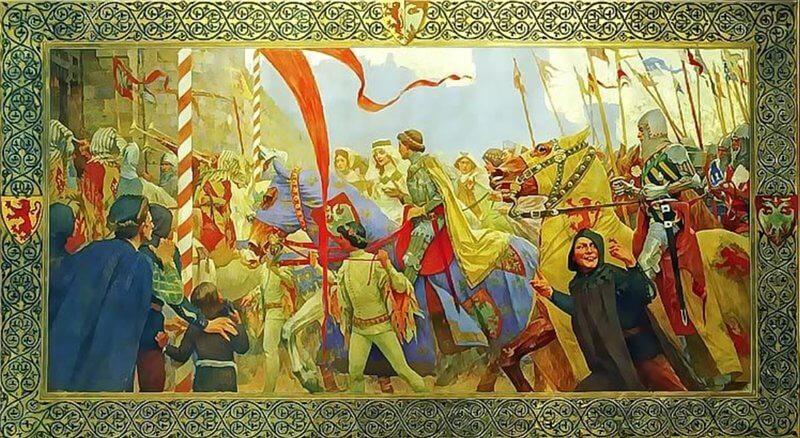 Картина Свадьба царя Душана