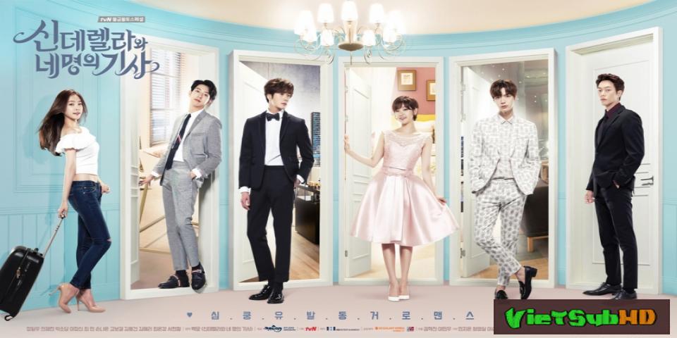 Phim Lọ Lem Và Tứ Kỵ Hoàn Tất (16/16) VietSub HD | Cinderella And Four Knights 2016