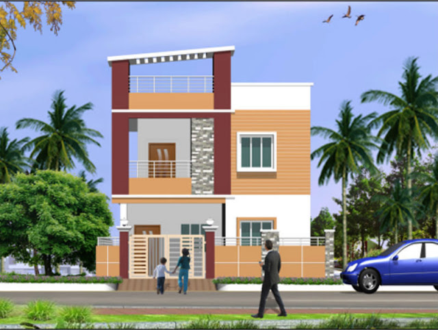 3 Bed Room Duplex Home For Sale at Vidyanagar