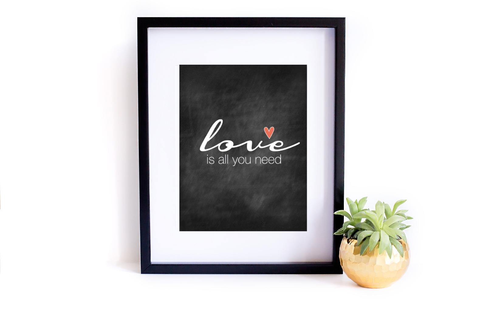 miłosne plakaty do druku za darmo