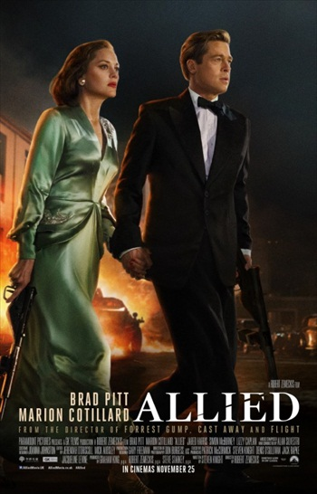 Allied (2016) Worldfree4u - English Movie HDCAM x264 680MB - Khatrimaza