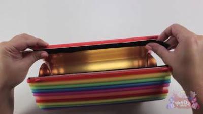 cara membuat tempat pensil dari botol bekas dan sedotan