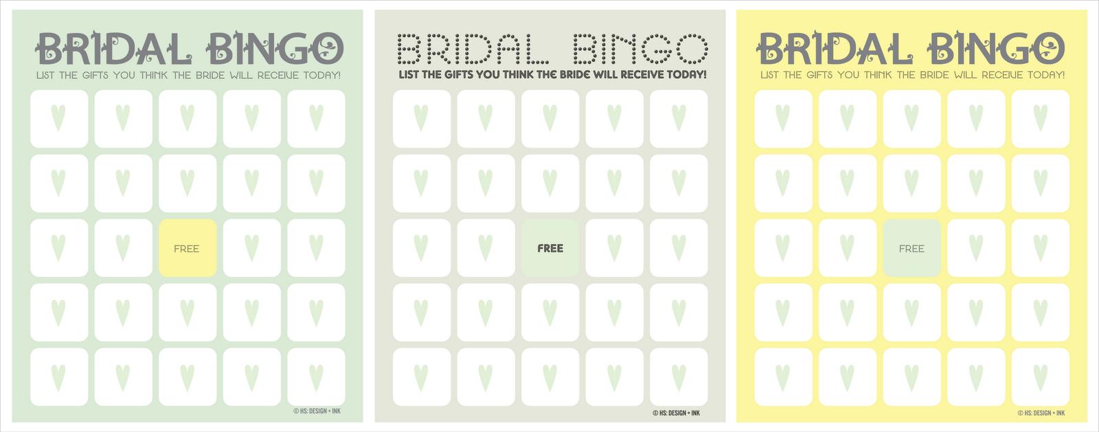the things hannah loves: Bridal Shower GAMES!!