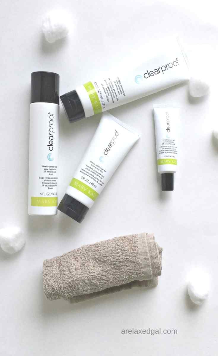 Getting Clear Skin With The Mary Kay Clear Proof Acne System A