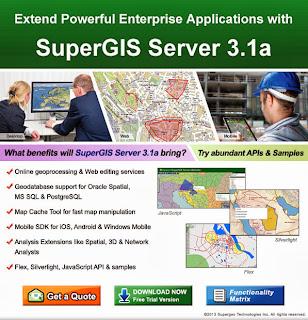 SuperGIS Server 3.1a