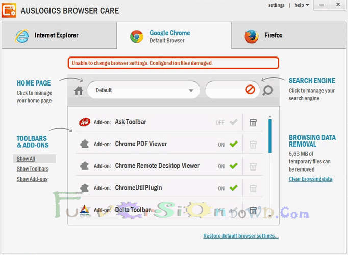 Auslogics Browser Care 4.1.2.0 Latest Version