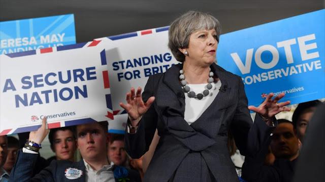 Theresa May: Romperé normas pro DDHH en la lucha antiterrorista