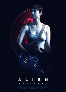 el villano arrinconado, humor, chistes, reir, satira, Alien: Covenant, Katherine Waterston, Ridley Scott