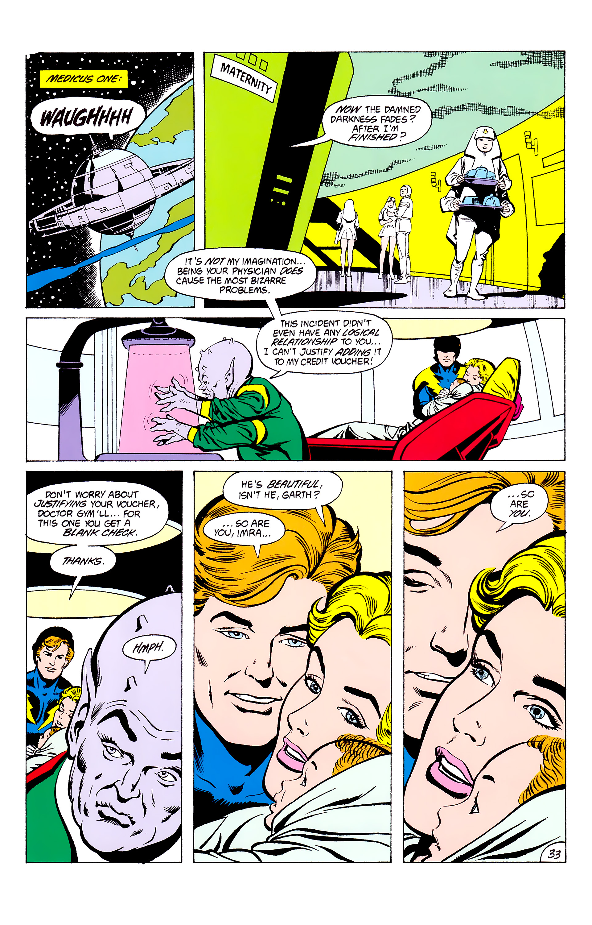 Legion of Super-Heroes (1980) _Annual_3 Page 33
