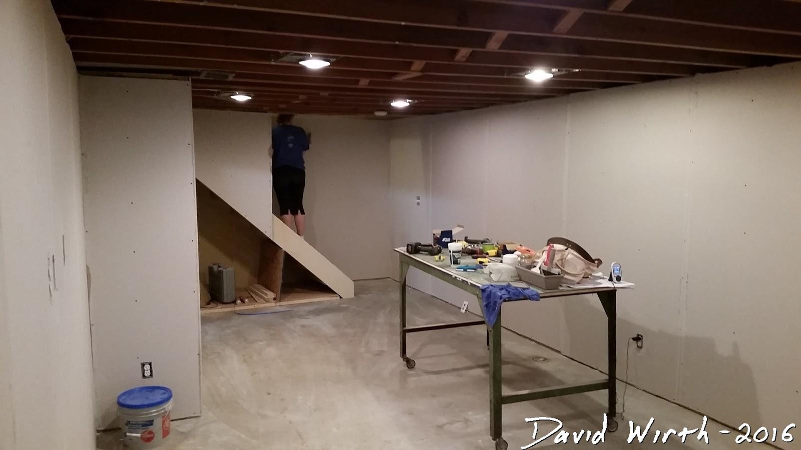 Elegant Images Of Finishing Basement Walls without Drywall ...
