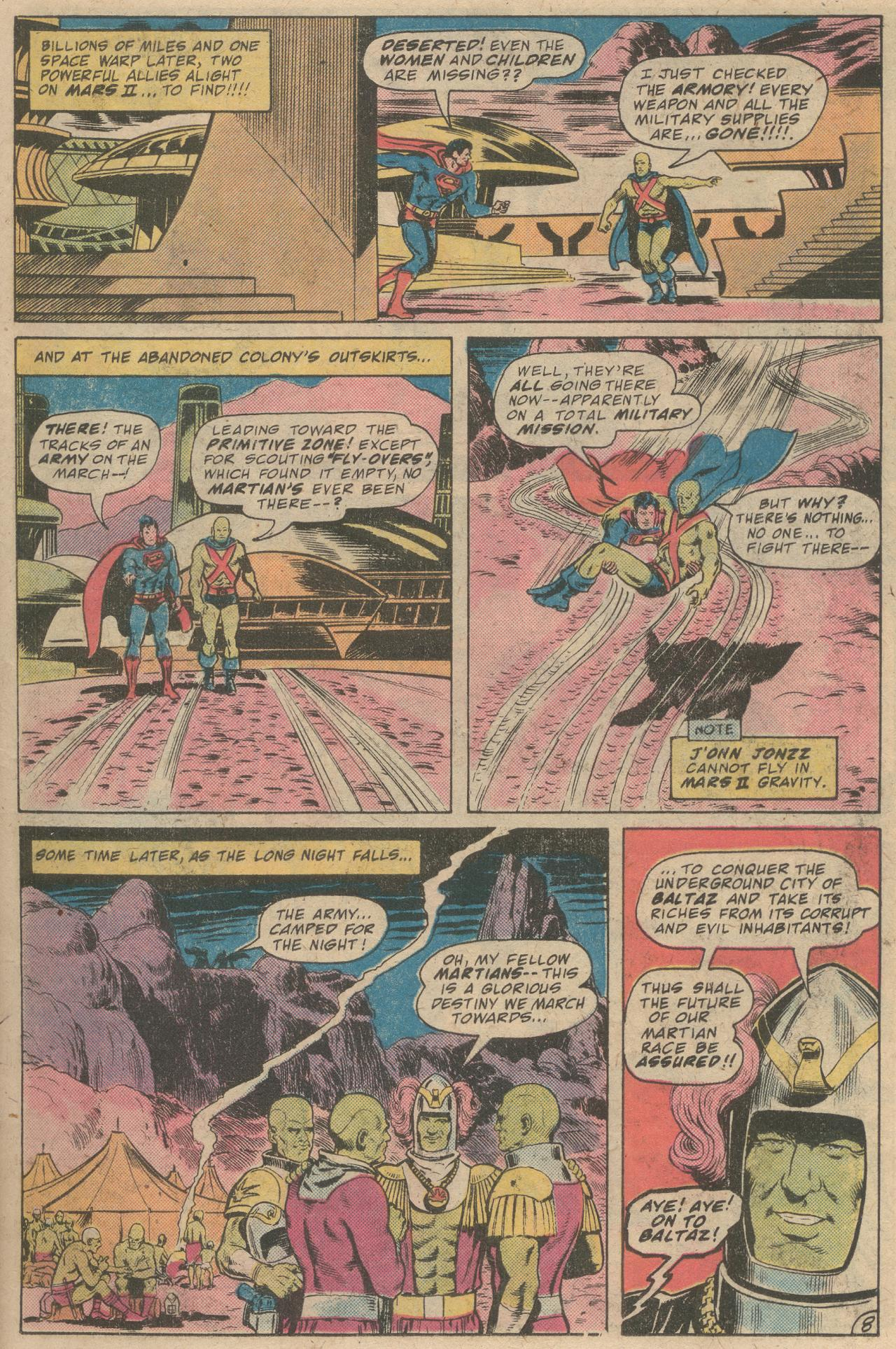 Read online World's Finest Comics comic -  Issue #245 - 10