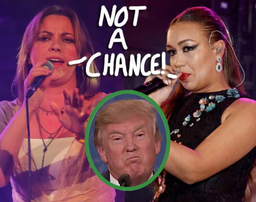 2 british singers rejects trump invitation