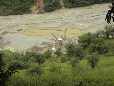 La destrucción del Río San Andres