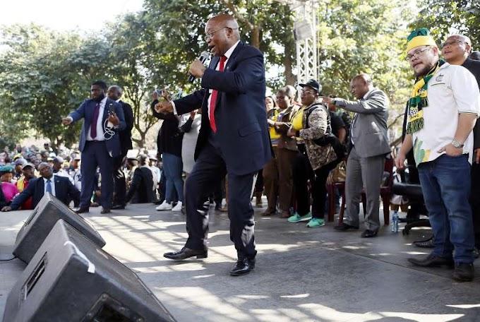 South Africa's Jacob Zuma scores major collaboration on upcoming album