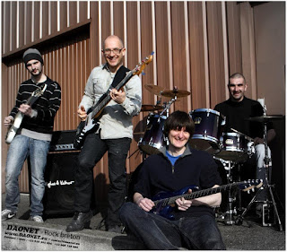 Daonet - Rock breton - photo officielle 2014
