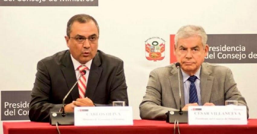 Ministerio de Economía no da marcha atrás con alzas del Impuesto Selectivo al Consumo - ISC