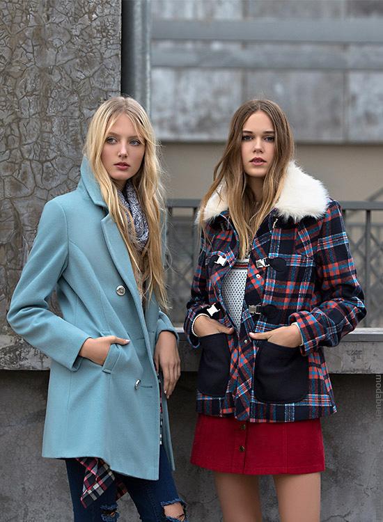 Tapados invierno 2016 ropa de mujer Falabella. Moda 2016.