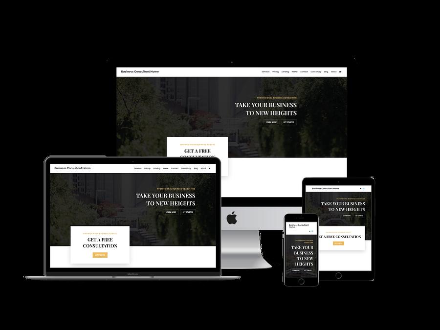 Contoh Template Website Company Profil 12