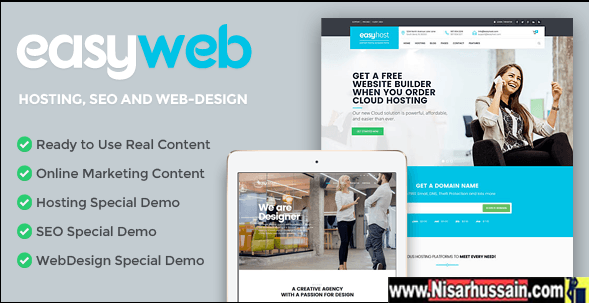 EasyWeb Premium WP Theme