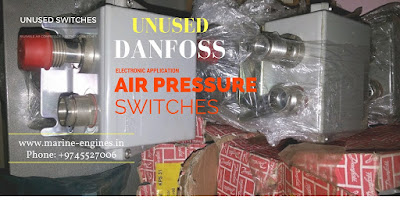 Air Compressor, Pressure Switch, Danfoss, used, unused, genuine, original, OEM, Ship Machinery, electronic part