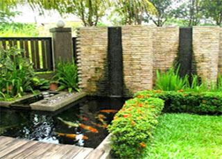 Model kolam ikan mini terbaik dan minimalis untuk rumah lahan sempit
