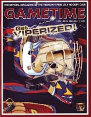 Vernon Vipers 2004-05 Program (First Edition)