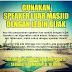Gunakan speaker luar masjid secara bijak