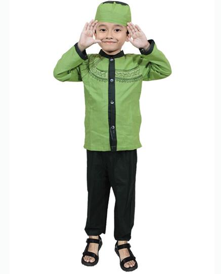 Model Baju Muslim Anak Pria Branded Terbaru 2016
