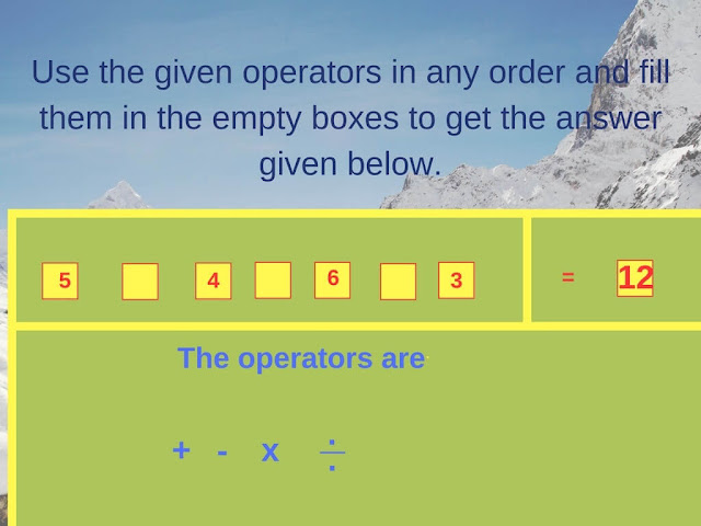 Math Operator Equation Brain Teaser-2