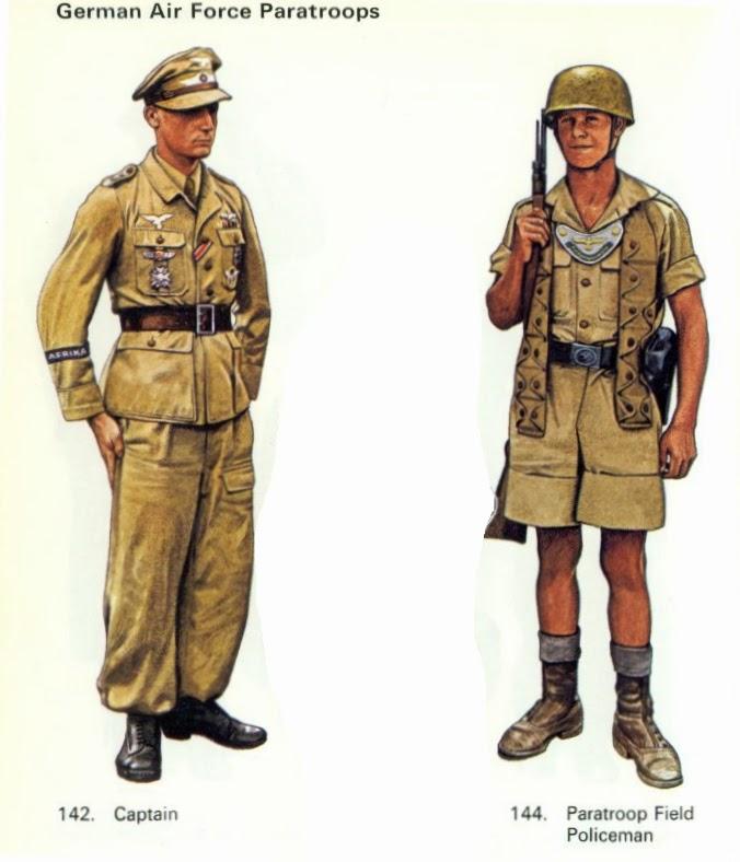 Axis And Allied : Fallschirmjäger Uniform