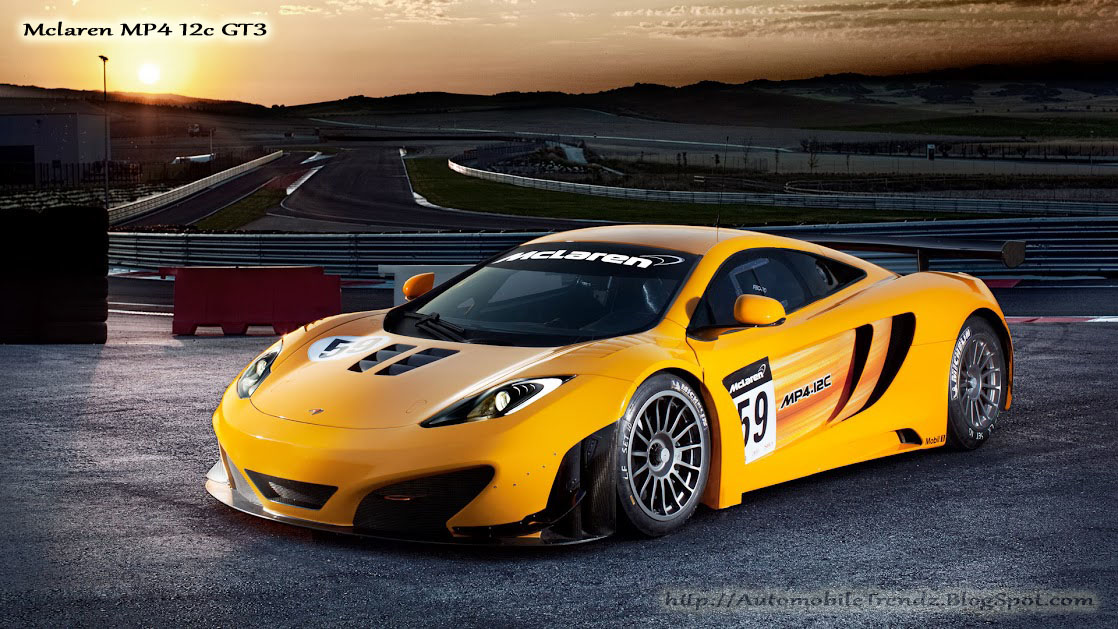 Automobile Trendz Mclaren Mp4 12c Gt3