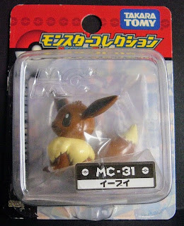 Eevee Pokemon figure Takara Tomy Monster Collection MC series