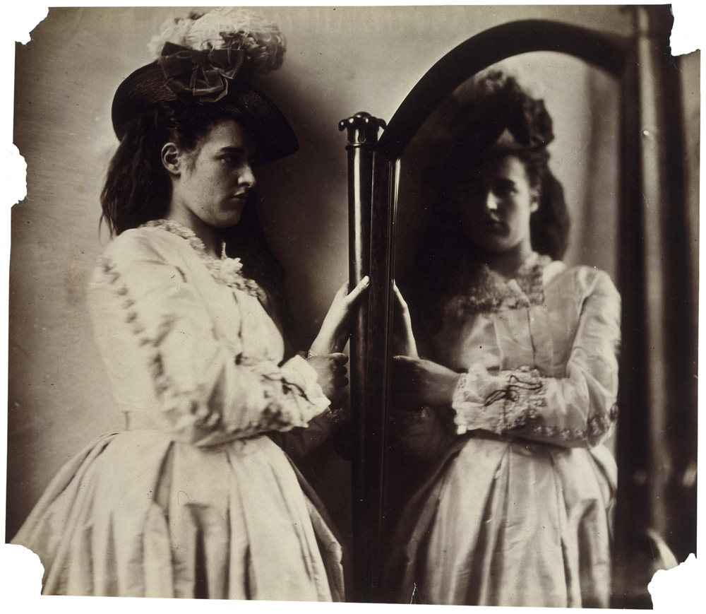 Photographic Study, 5 Princes Gardens (Clementina Maude) by Clementina Hawarden - Victorian Giants exhibition, National Portrait Gallery, London