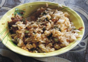nigerian local rice also known as ofada or abakiliki rice