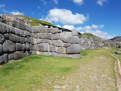 Parte de la fortaleza de Sacsayhuamán