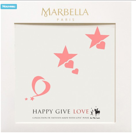 happy give love pour Les P'tits Cracks de Marbella Paris